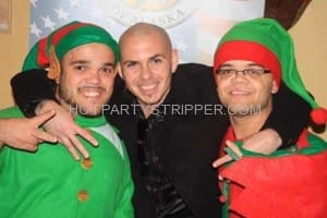 santa elves christmas party