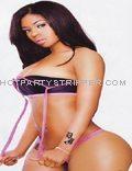 Champagne Florida Female Stripper