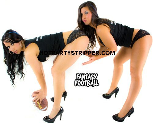 fantasy football female strippers