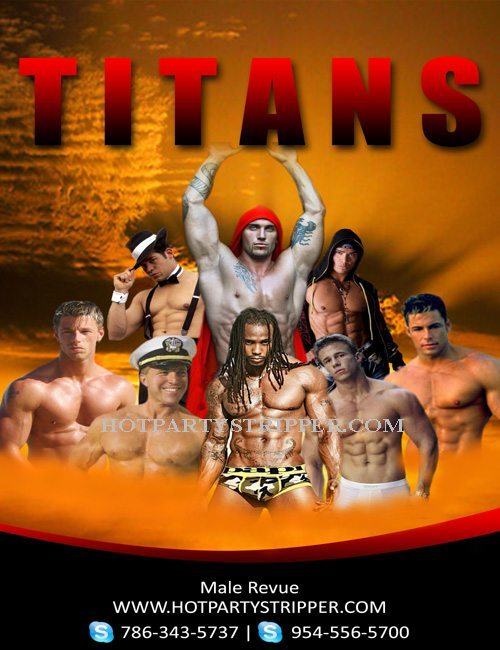 male-revue-titans-flyer