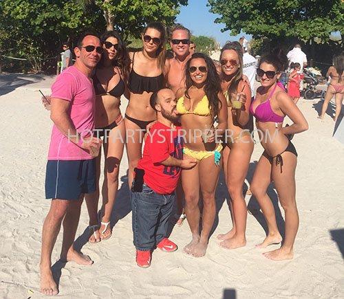nikki beach miami midgets