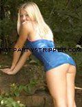 summer blond dancer