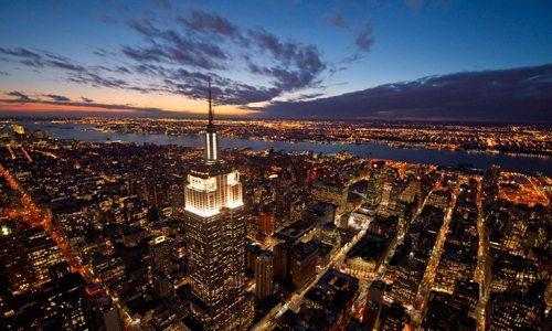 new york empire state busilding