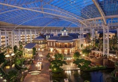 Gaylord Opryland Hotel in Nashville Tennessee