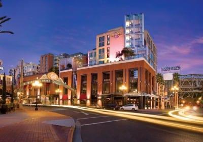 Hard Rock Hotel in San Diego California