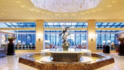 ritz carlton in chicago is beautiful and great for a bachelor party