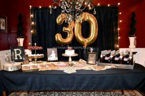 Memphis Tennessee 30th Birthday Party Ideas