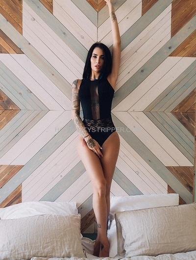 Jilliana San Francisco Exotic Female Stripper