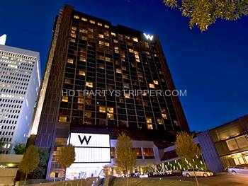 W Hotel Bachelor Party Ideas