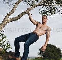 Rocky Boise Idaho Male Stripper