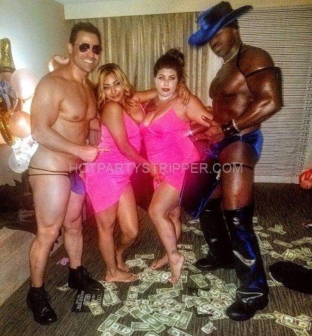 Chad dallas hot stripper male
