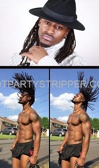 Kirk Orlando male Stripper