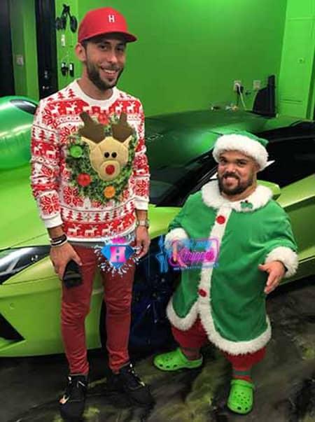 chirstmas party elf