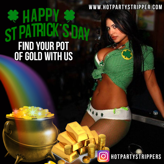 saint patricks day private strippers