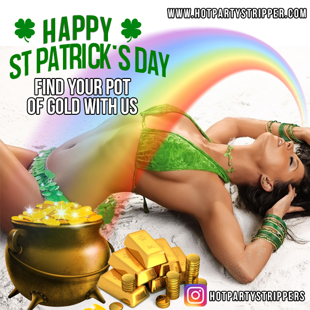 saint patricks day strippers