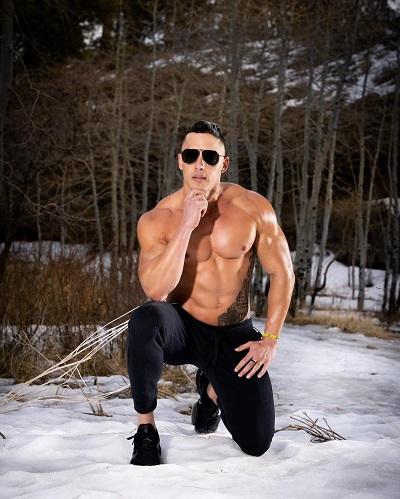 Pitbull Male Vegas Dancer